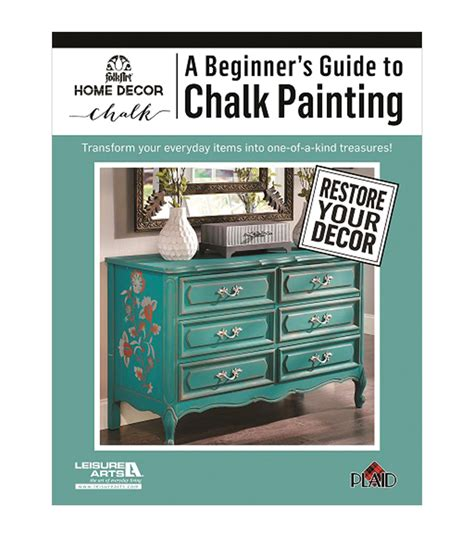 chalk paint joann a beginner s guide to chalk painting activity book jo
