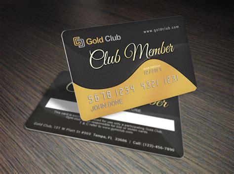 make membership cards gold membership card template premium print design