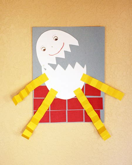 nursery craft projects nursery rhyme activities humpty dumpty let s explore