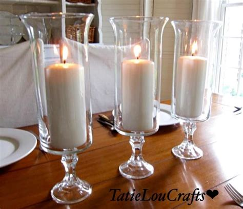 table centerpieces candles set of 10 13 quot clear glass wedding centerpieces table