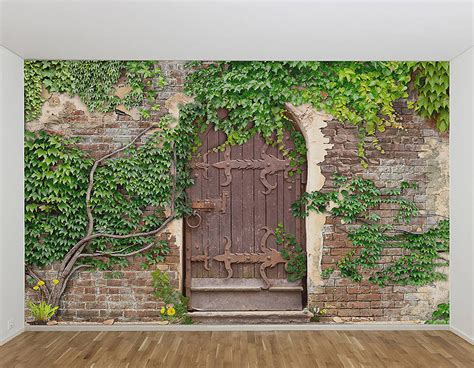secret garden wall garden wall murals pictures to pin on pinsdaddy