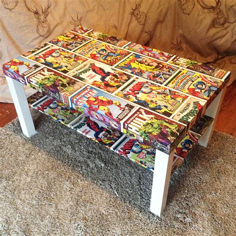 decoupage comic book decoupage marvel style comic from