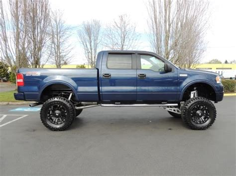 07 Ford F150 by 2007 Ford F 150 Lariat Xlt 4dr Supercrew Fx4 Lifted 37 Quot Mud
