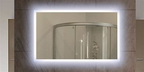 backlit mirrors for bathrooms led illuminated bathroom mirror backlit mirrors for