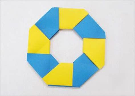 origami circle paper origami how to make 8 pointed for