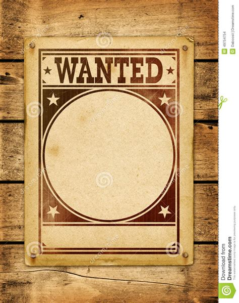 woodworker wanted wanted poster on a wood board stock illustration image