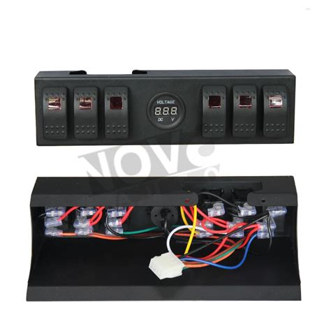 buy led light bar led light bar led work light switch panel for jeep