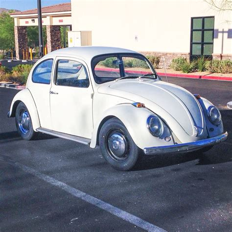 Volkswagen Beetle Tire Size by My S 1966 Vw Beetle With New Tires From Big O Tires