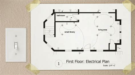 floor plan with electrical symbols drawing electrical plans in autocad pluralsight