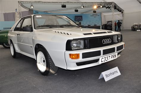 Audi Sport Quattro For Sale by Audi Quattro 395 000 Record At Bonhams Goodwood Sale