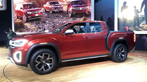 New Volkswagen Truck by Vw Explains Why It Brought A Truck Concept To New