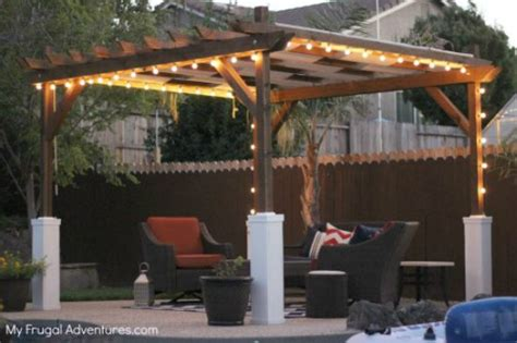 how to build a pergola in a weekend