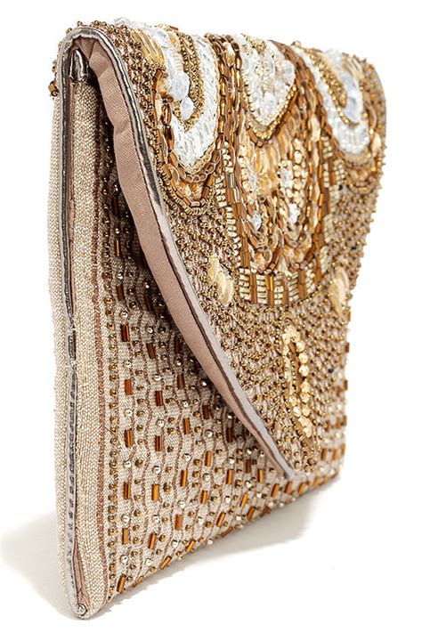 beaded clutches chic gold clutch beaded clutch envelope clutch 37 00