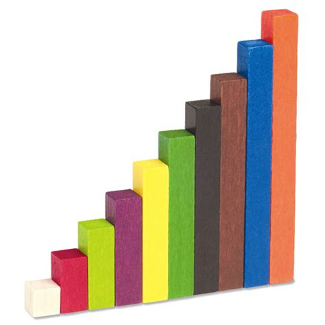 woodworking resources wood cuisenaire rods introductory set from learning