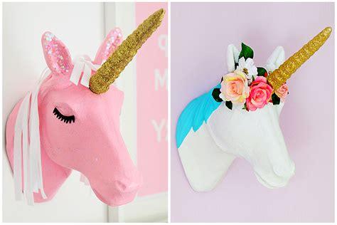 craft uk 2 ways to decorate a mache unicorn hobbycraft