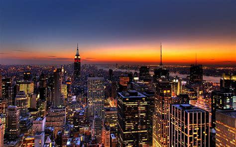 new york city new york city skyline
