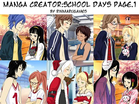 school days page 5 the gallery for gt anime dress designs
