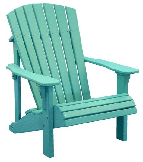 What Is An Adirondack Chair by Poly Furniture Wood Deluxe Adirondack Chair Aruba Blue