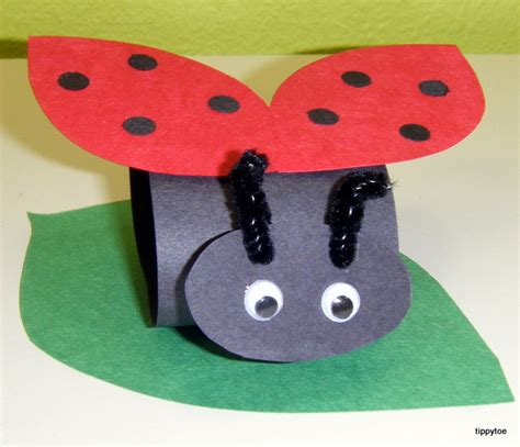 ladybug crafts for tippytoe crafts grouchy ladybugs