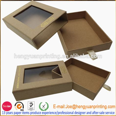 craft paper boxes craft paper gift box with window ch1087 buy craft paper