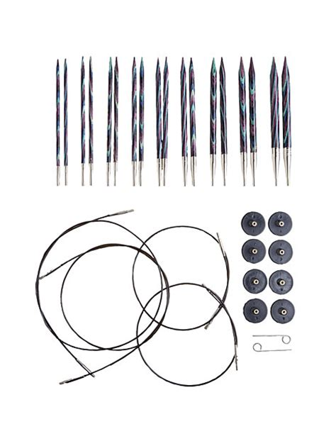 us 11 knitting needles options interchangeable majestic circular knitting needle