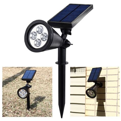 landscape lighting lumens ulincos ul08 4 led solar garden light 200 lumens waterproof security outdoor lighting l