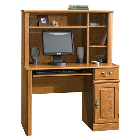 desk with small hutch small computer desks for small spaces pc build advisor