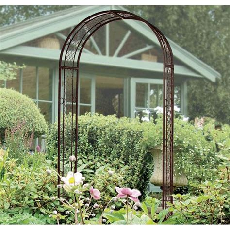 Garden Arch Parts Gardman Edwardian Garden Arch 199 Bunnings The