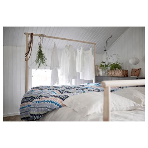 ikea bed frames king gj 214 ra bed frame birch l 246 nset standard king ikea