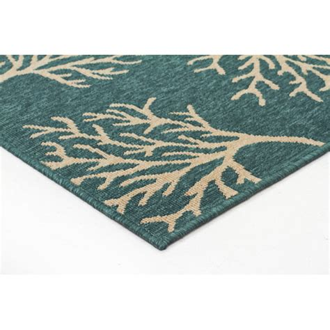 turquoise outdoor rug kakadu turquoise indoor outdoor rug temple webster