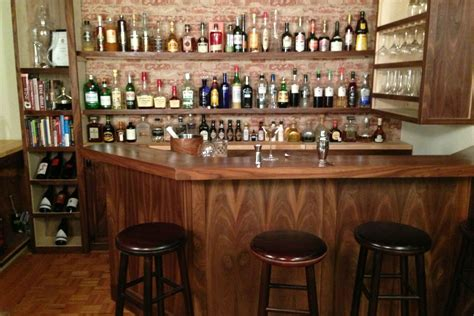 Bar Stools For Commercial Use by Home Bar Built By A Professional Bartender Takes Diying To