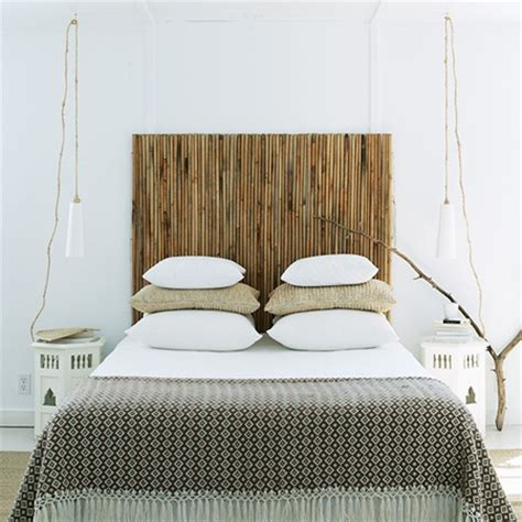 how to make a bamboo headboard home dzine bedrooms and easy bamboo headboard
