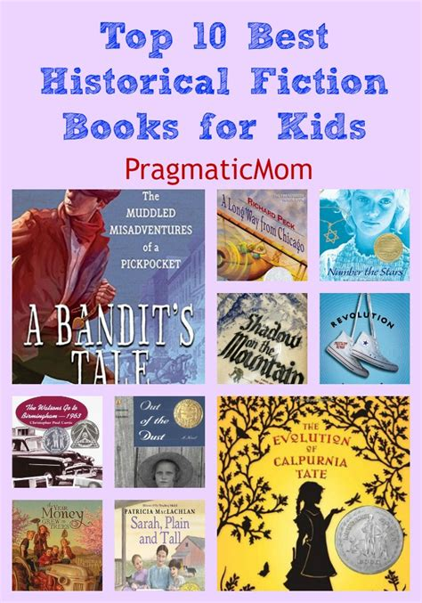 pictures of fiction books top 10 best historical fiction books for kidspragmaticmom