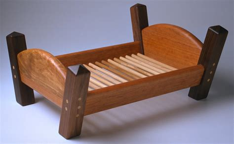 bed toys a wooden doll bed fits american dolls
