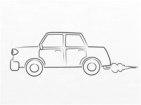 How To Draw A Car 8 Steps With Pictures Wikihow