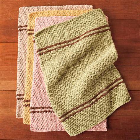 knit towel pattern free knitting pattern knitpicks dish towel set check
