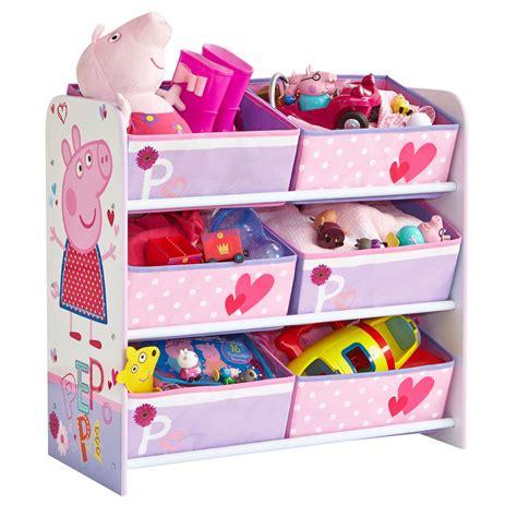 peppa pig 6 bin storage unit new bedroom furniture