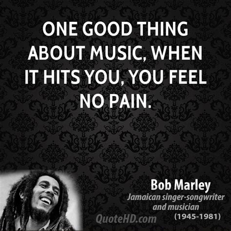 Bob Marley Music Quotes   QuoteHD