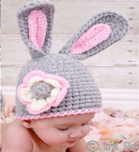 how to knit a newborn baby hat new handmade woven hat infant babyrabbit knit style cap