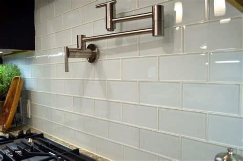 glass tile kitchen backsplash white glass subway tile kitchen modern with backsplash
