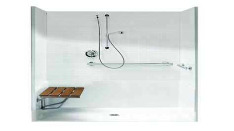 Walk In Shower Kits With Seat by Shower Inserts With Seat Ada Shower Stall Dimensions Ada