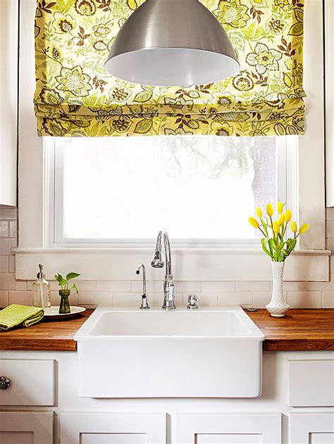 window treatments for kitchen windows sink 2014 kitchen window treatments ideas decorating idea