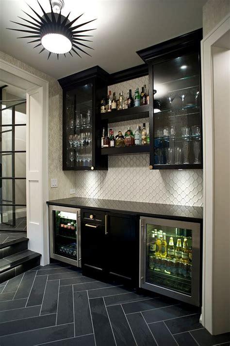 cabinets for basement 27 stylish basement bar d 233 cor ideas digsdigs
