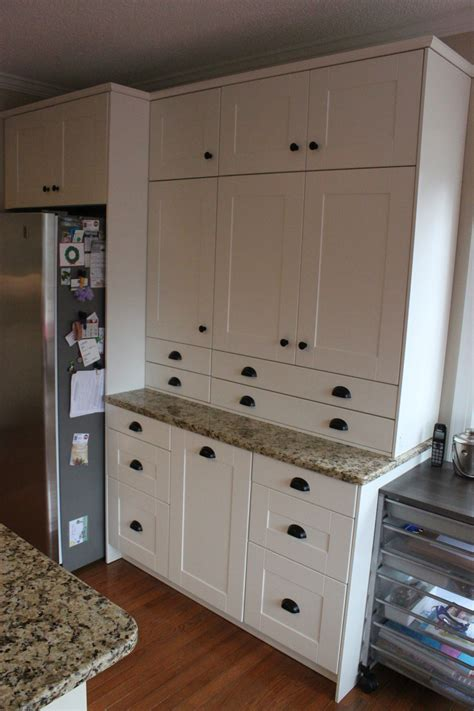 Custom Made Kitchen Cabinet Doors an ikea kitchen makeover joan rivers would have applauded