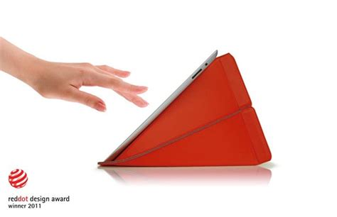 origami tablet origami inspired smart stand protective sleeve gadgetsin
