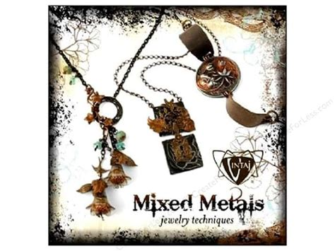 jewelry techniques for metal mixed metals jewelry techniques book createforless