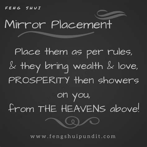 feng shui bedroom mirror feng shui mirror placement how to do it right
