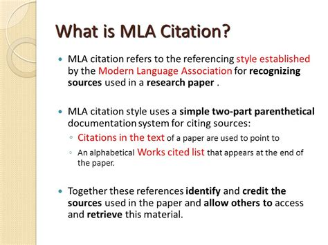 mla guidelines adapted from bakersfield college library and purdue on line writing