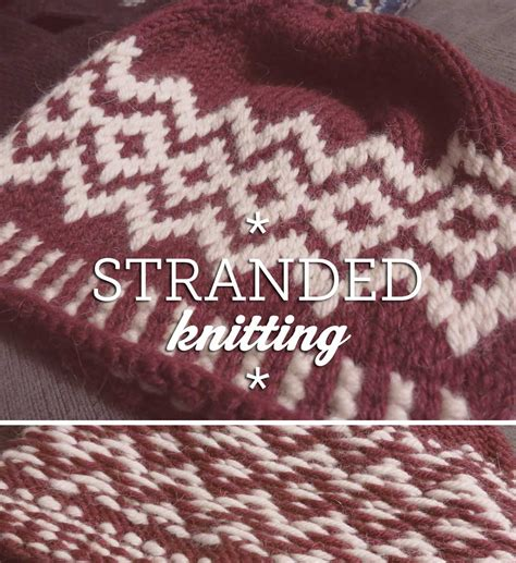 colorwork knitting stranded knitting adventures in color
