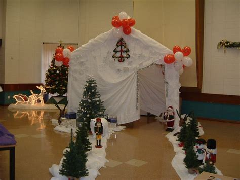 santa s grotto decorations make even more special with a gala tent santa s